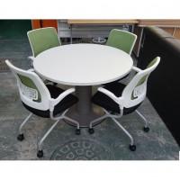 원탁 세트  탁자 + 의자4EA