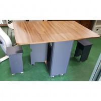 접의식 식탁 의자 2EA 포함