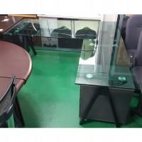 강화유리 책상 세트2EA